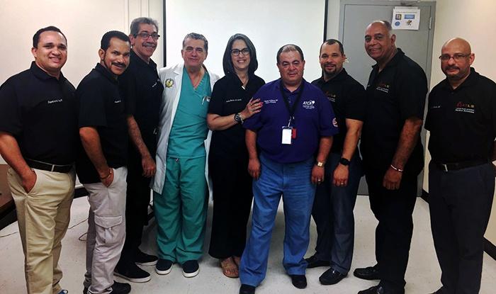 El país cuenta con nuevos instructores en medicina de trauma