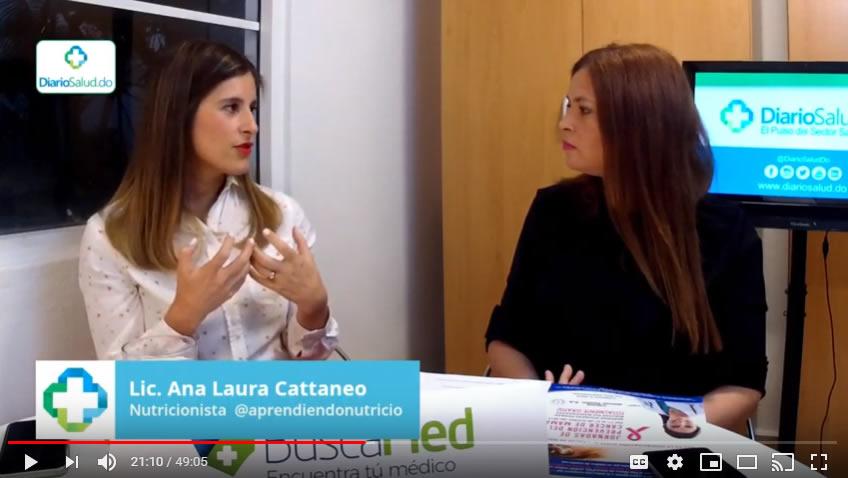 """""""Alimentación Saludable con Bajo Presupuesto"""", con la Licda. Ana Laura Cattaneo VIDEO"""