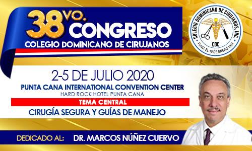 38vo. Congreso Colegio Dominicano de Cirujanos
