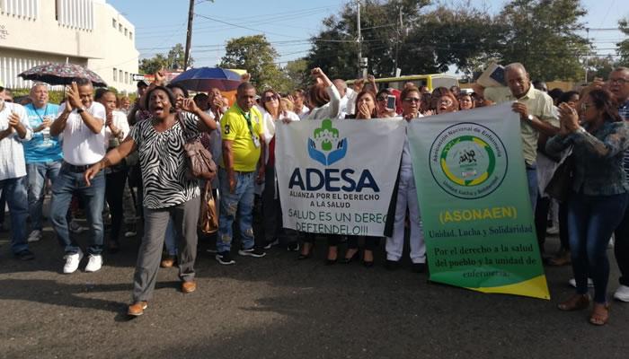 Denuncian privatización Ciudad Sanitaria Dr. Luis Eduardo Aybar