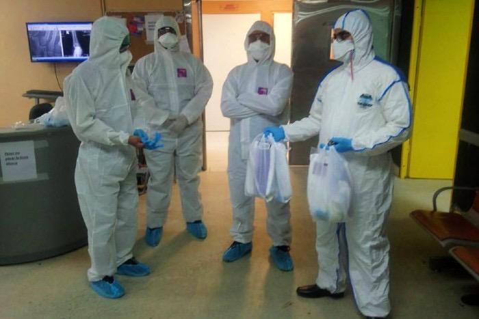 Sociedad Ortopedia distribuye kits de bioseguridad a sus miembros