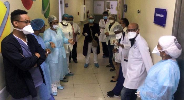 Enfermeras Maternidad Los Minas demandan equipos de protección