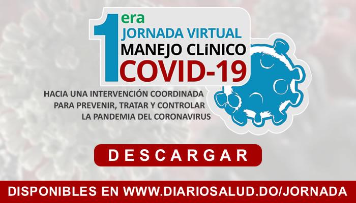 Ya están disponibles las conferencias sobre la Iera Jornada Virtual Manejo Clínico de Covid-19