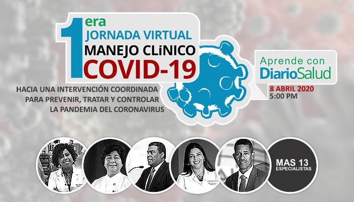 1era Jornada Virtual de Manejo Clínico del COVID-19 rompe récord en asistencia