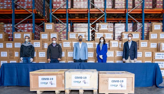 Realizan donación de pruebas y equipos para ayudar a detección del COVID-19
