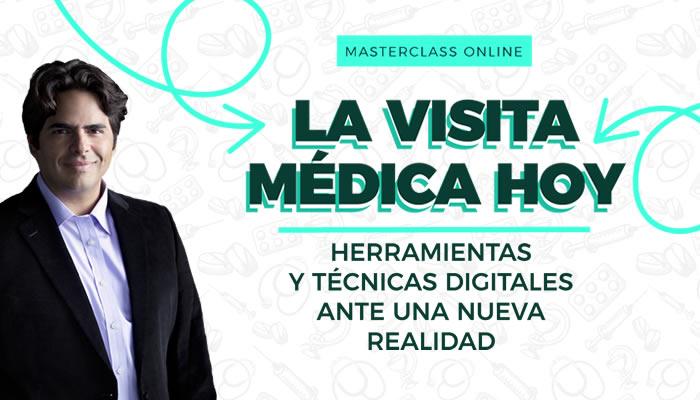 "DiarioSalud.do invita a masterclass ""La Visita Médica Hoy"""