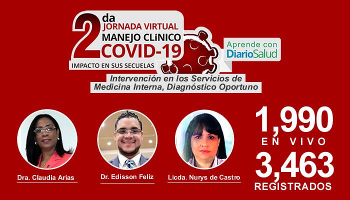 Concluye ciclo de conferencias pre-jornada de la 2da. Jornada Virtual Manejo Clínico del COVID-19