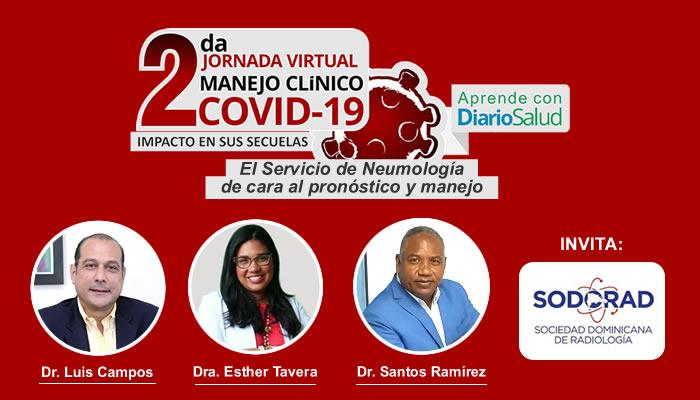 Se realiza con éxito segundo día de la 2da. Jornada Virtual Manejo Clínico del COVID-19