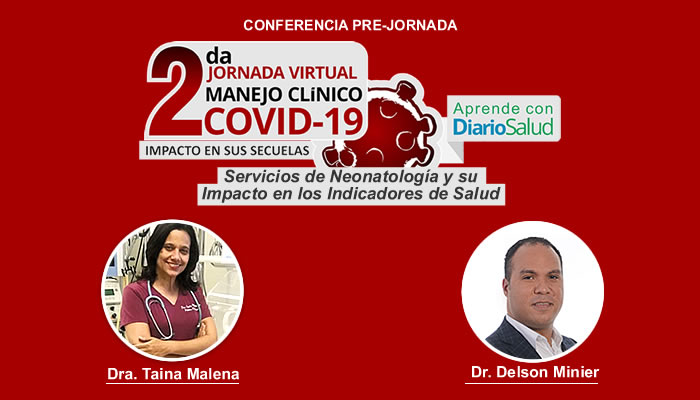 Hoy inician  las conferencias pre-jornada de la 2da. Jornada Virtual Manejo Clínico del COVID-19