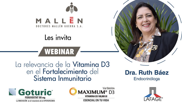 """Doctores Mallén realiza con éxito  webinar """"La Relevancia de la Vitamina D3 en el Fortalecimiento del Sistema Inmunitario"""""""