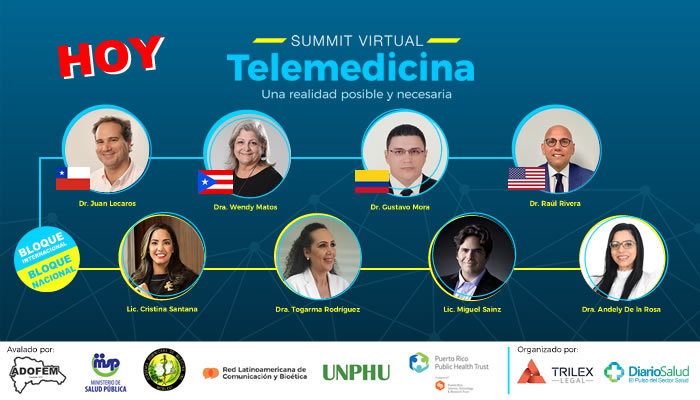 Con grandes expectativas se realiza hoy 1er Summit Virtual sobre Telemedicina