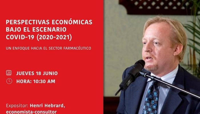 Economista sostiene crecimiento sector salud se incrementó por COVID-19