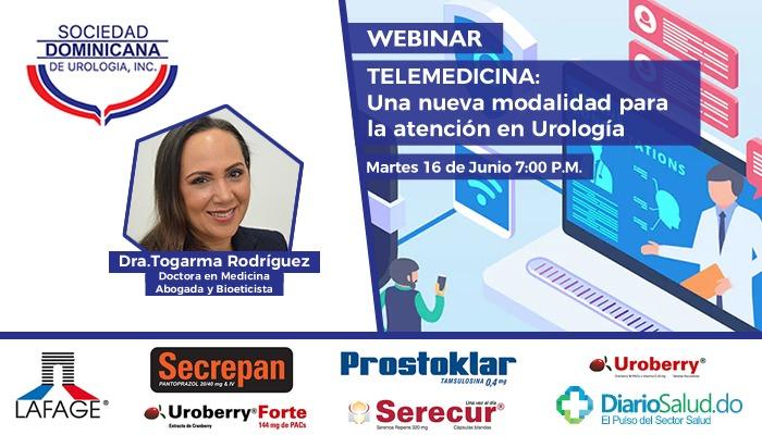 """Sociedad Urología  realiza con éxito  webinar """"Telemedicina: Una Nueva Modalidad para la Atención en Urología"""""""