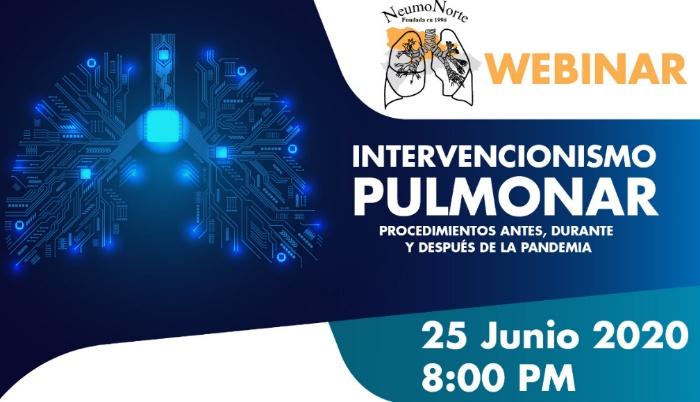 Neumólogos del Norte realizan webinar sobre Intervencionismo Pulmonar