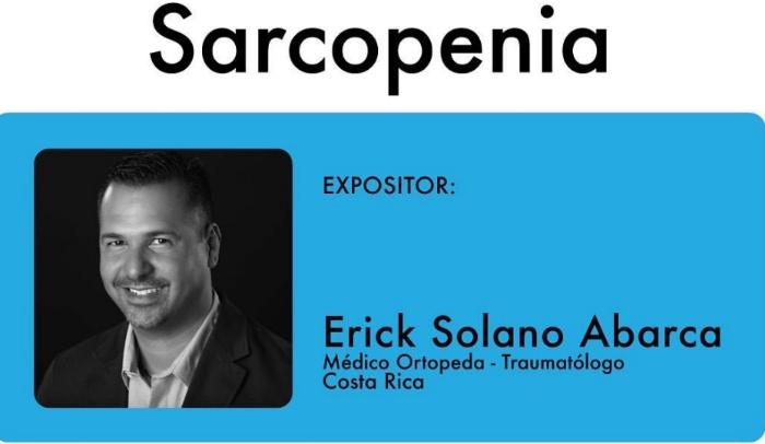 Especialista analiza la sarcopenia desde un enfoque ortopédico