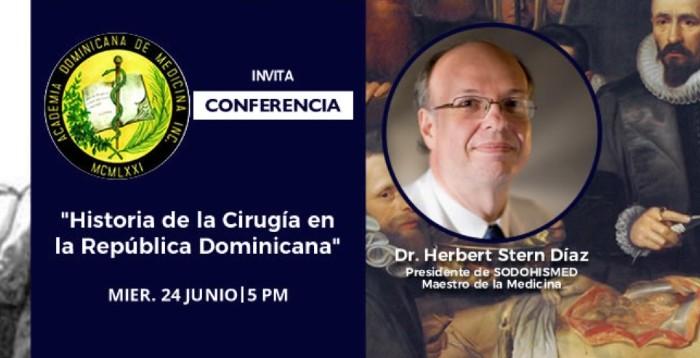 Academia de Medicina realiza recuento sobre historia de la cirugía en el país