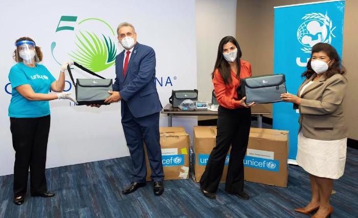 Donan ventiladores para hospitales del Este
