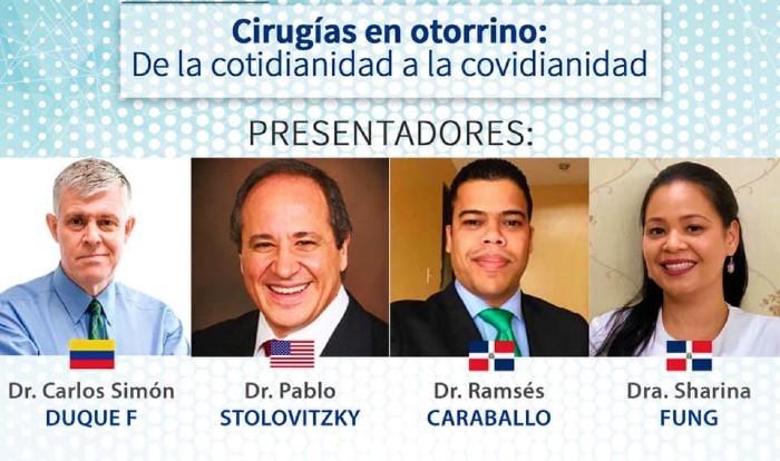 Especialistas discuten sobre cirugías en otorrinolaringología durante pandemia