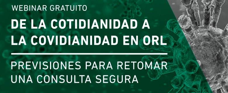 Sociedad Otorrinolaringología discute sobre regreso al consultorio
