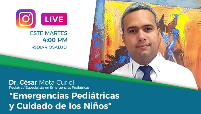 Especialista destaca incidencia de emergencias pediátricas (VIDEO)