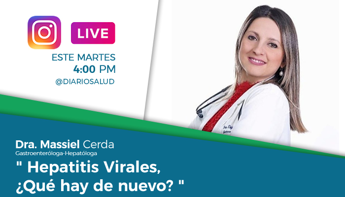 DiarioSalud.do invita a Instagram Live sobre hepatitis virales