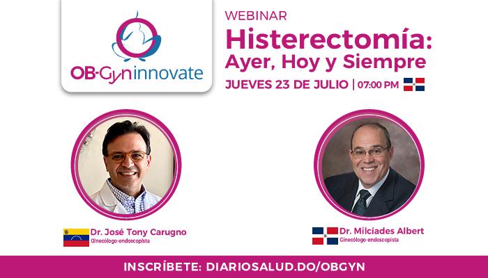 """OB-Gyn Innovate realiza con éxito  webinar """"Histerectomía: Ayer, Hoy y Siempre"""""""