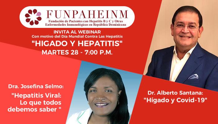 """Fundación de Pacientes con Hepatitis invita a webinar """"Hígado y Hepatitis"""""""