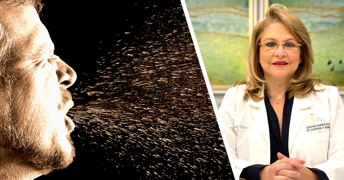 Especialista destaca importancia de diferenciar síntomas de patologías alérgicas del COVID-19