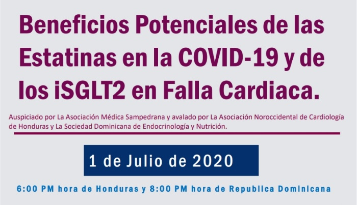 Especialista analiza los beneficios potenciales de las Estatinas en COVID-19