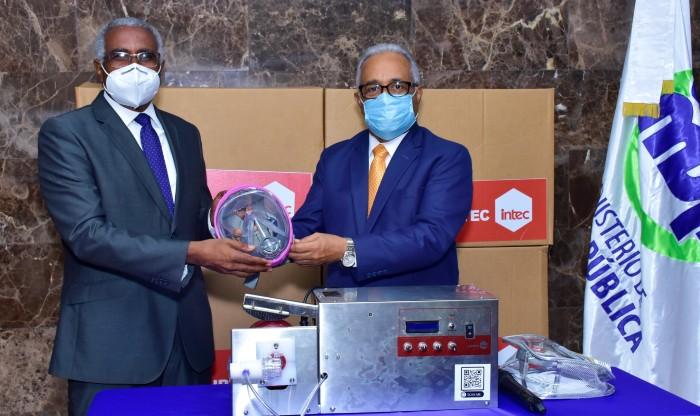 Donan 38 ventiladores a Salud Pública para Covid-19