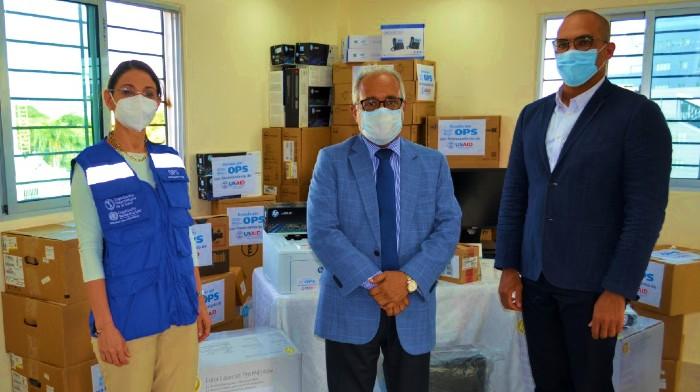 OPS dona equipos a Salud Pública para sala de vigilancia epidemiológica