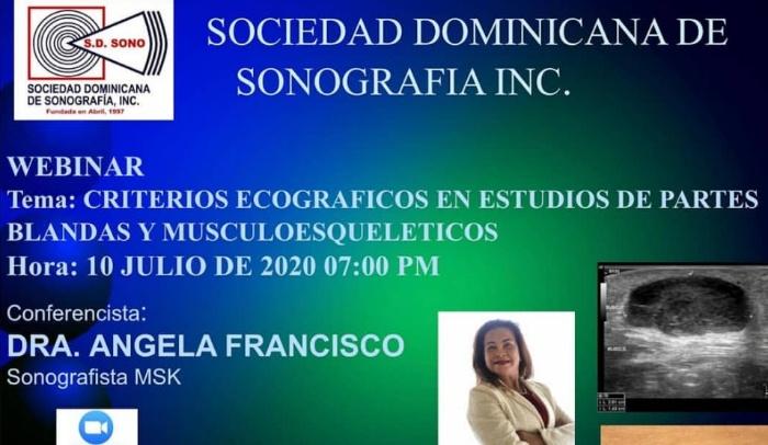 Sociedad Sonografía invita a webinar sobre Criterios ecográficos en estudios de partes blandas