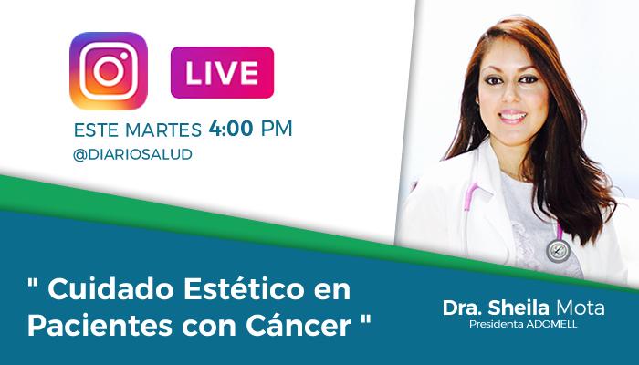 DiarioSalud.do invita a Instagram Live sobre cuidados estéticos en pacientes con Cáncer