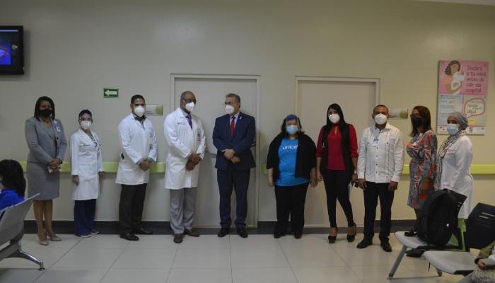 Inician programa Mamá Canguro en Hospital Dr. Reynaldo Almánzar