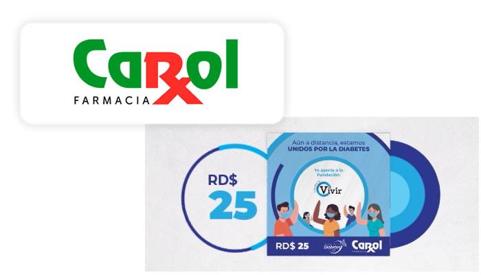 """Farmacia Carol una vez más aporta al bienestar de los dominicanos con su campaña """"Unidos por la Diabetes"""""""