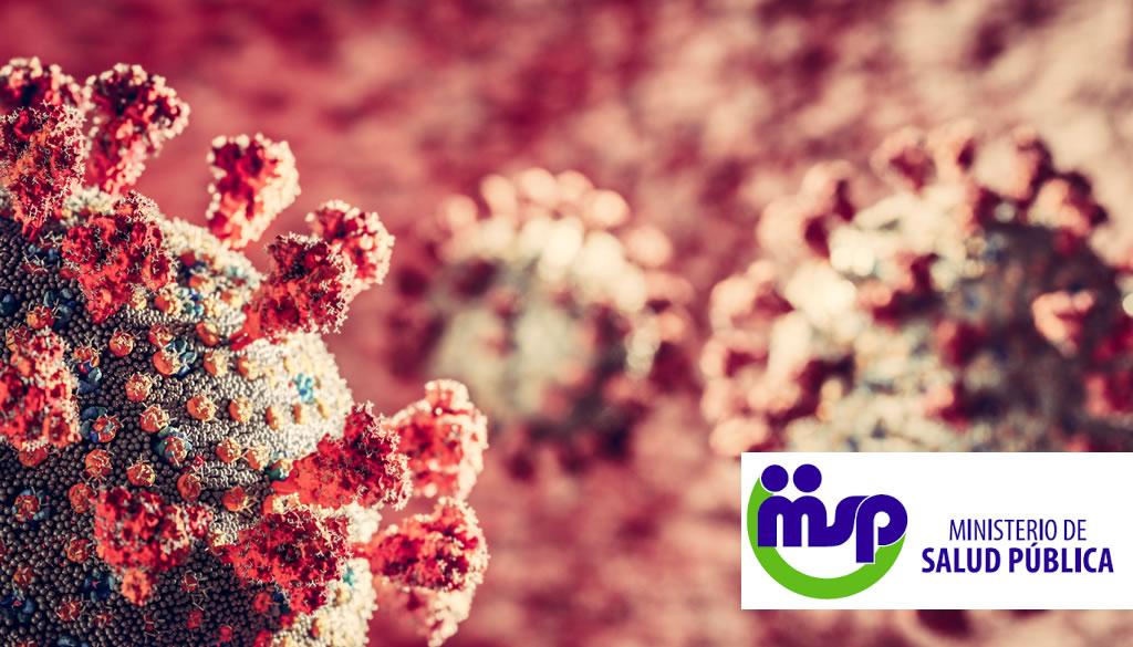 Ministerio Salud reporta 404 nuevos contagios por Covid-19
