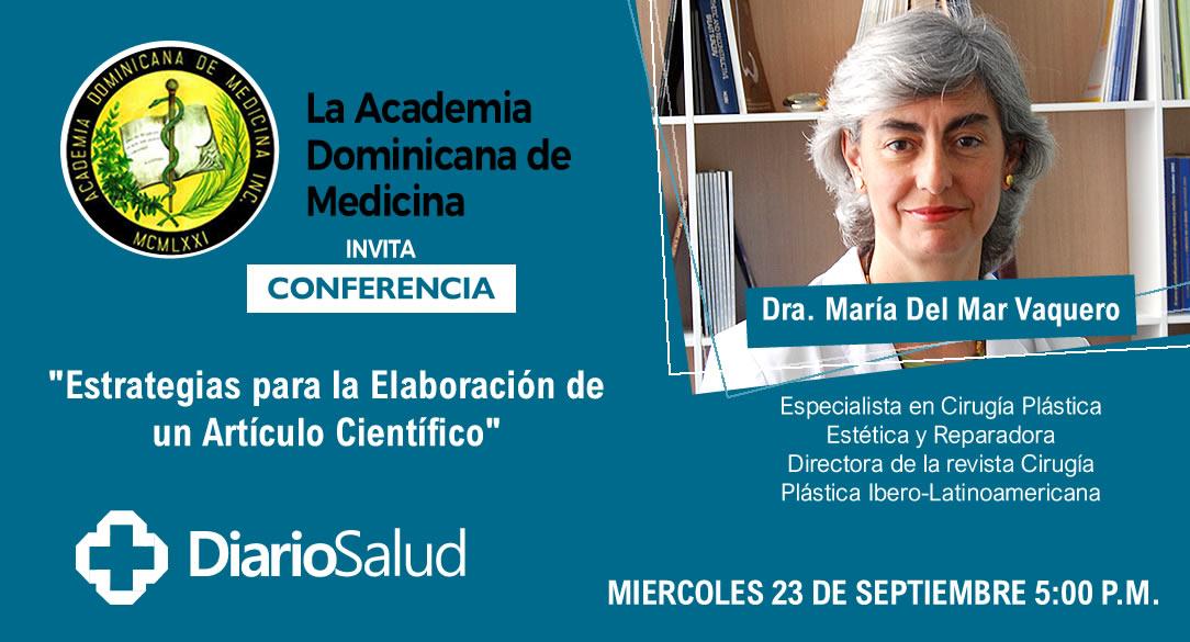 Academia de Medicina invita conferencia sobre elaboración de artículos científicos