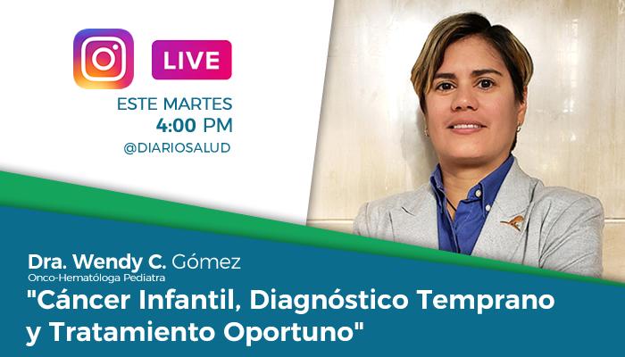 DiarioSalud.do invita a Instragram Live sobre cáncer infantil