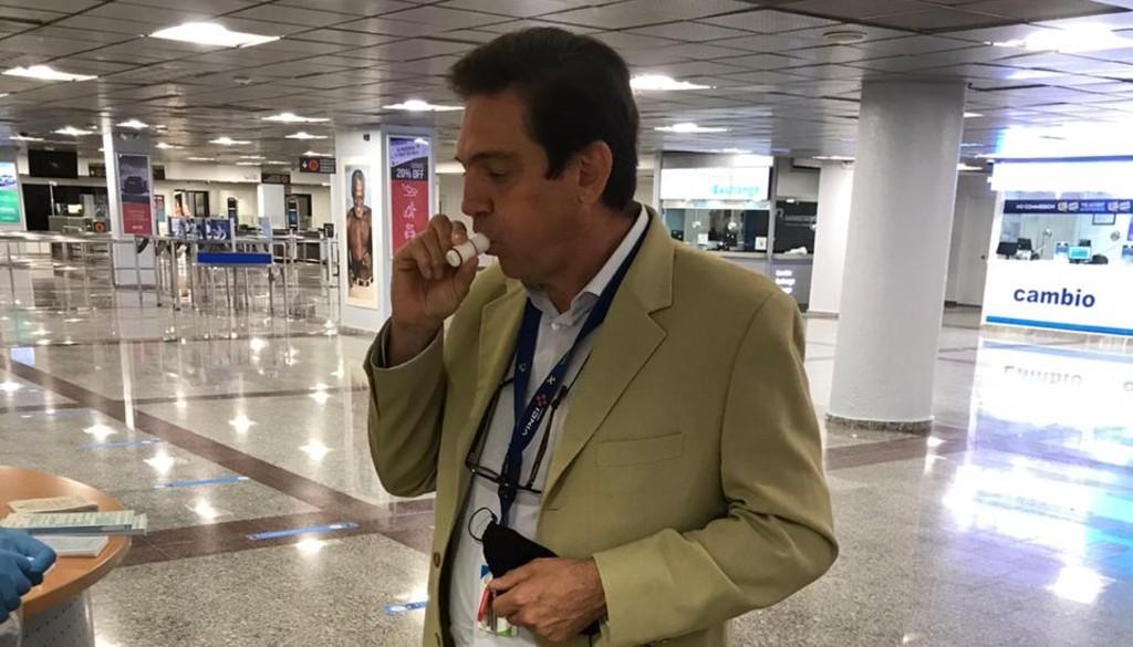 Salud Pública notifica aeropuertos no registran casos de positividad en viajeros