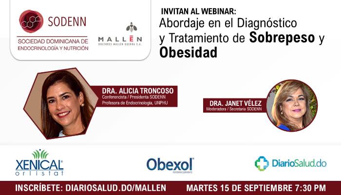 Doctores Mallén realiza con éxito webinar sobre abordaje del sobrepeso y obesidad