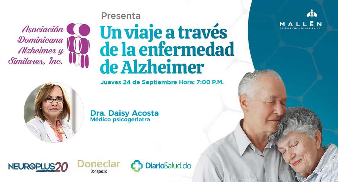 "Asociación de Alzheimer realiza con éxito webinar ""Un viaje a través de la enfermedad de Alzheimer"""