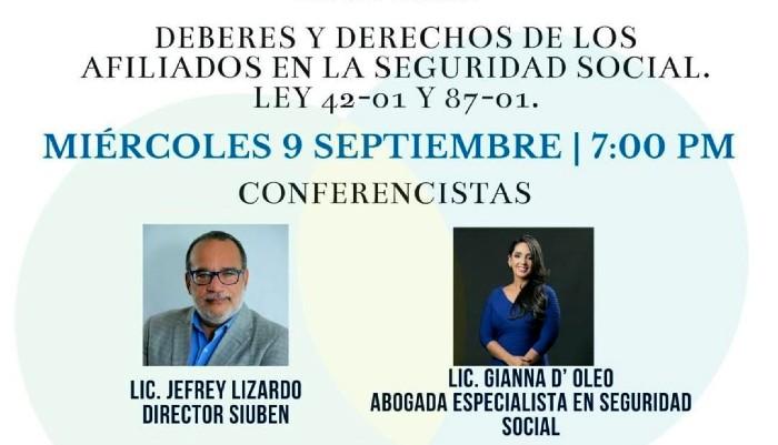 Discuten sobre derechos y deberes de afiliados a la Seguridad Social