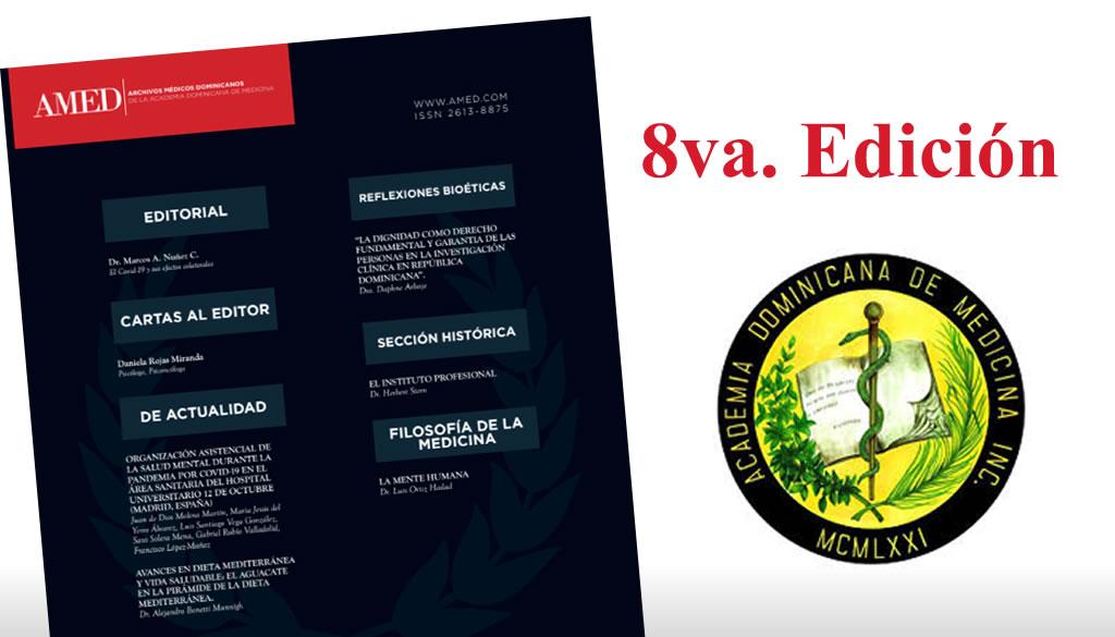 Academia de Medicina lanza 8va edición de su revista AMED