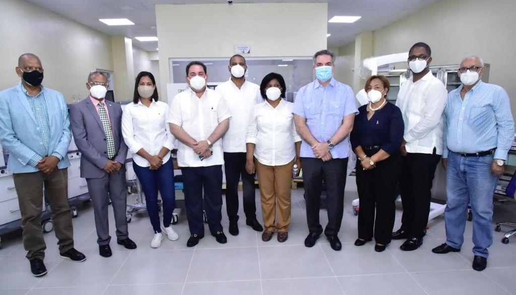 SNS apertura Hospital Provincial San Bartolomé