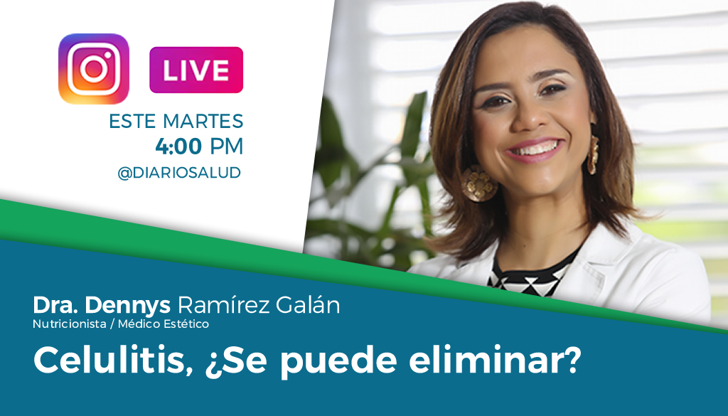 DiarioSalud.do invita a Instagram Live sobre celulitis