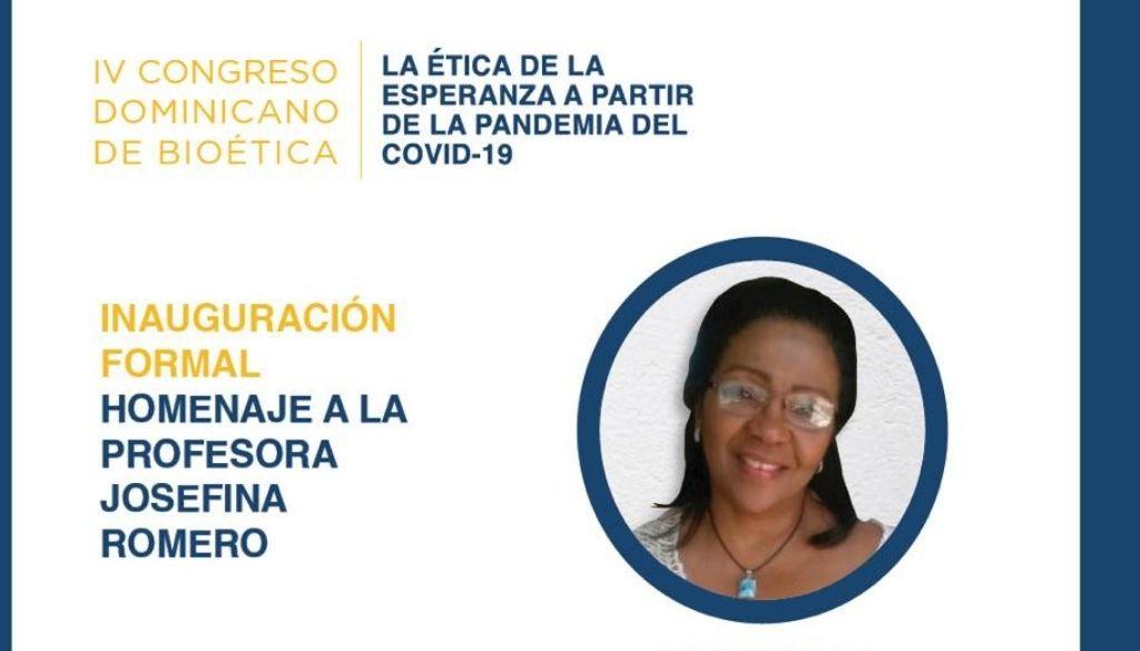 Comisión Nacional Bioética reconoce a profesora Josefina Romero