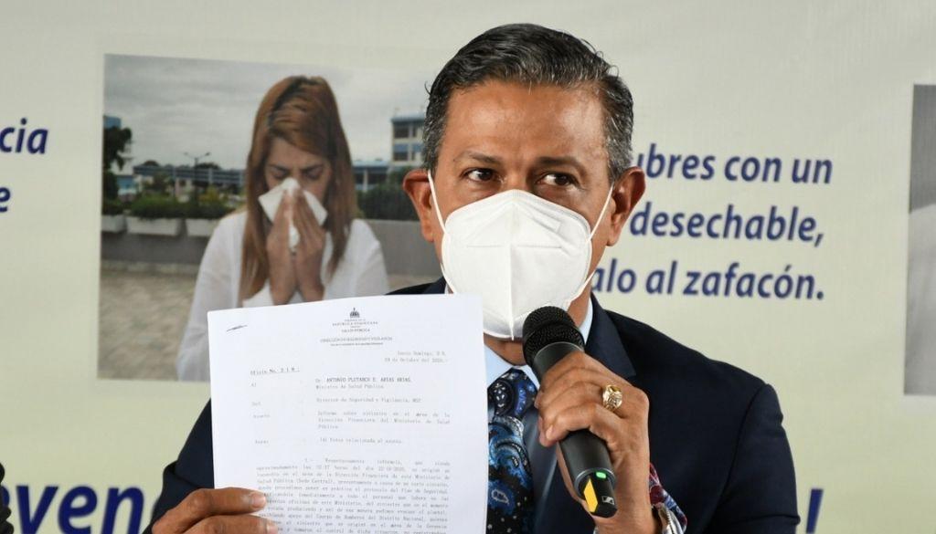 Director de Gabinete de Salud Pública deja su puesto