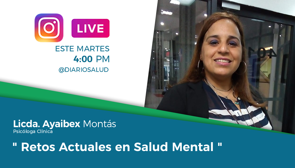 DiarioSalud.do invita a Instagram Live sobre salud mental