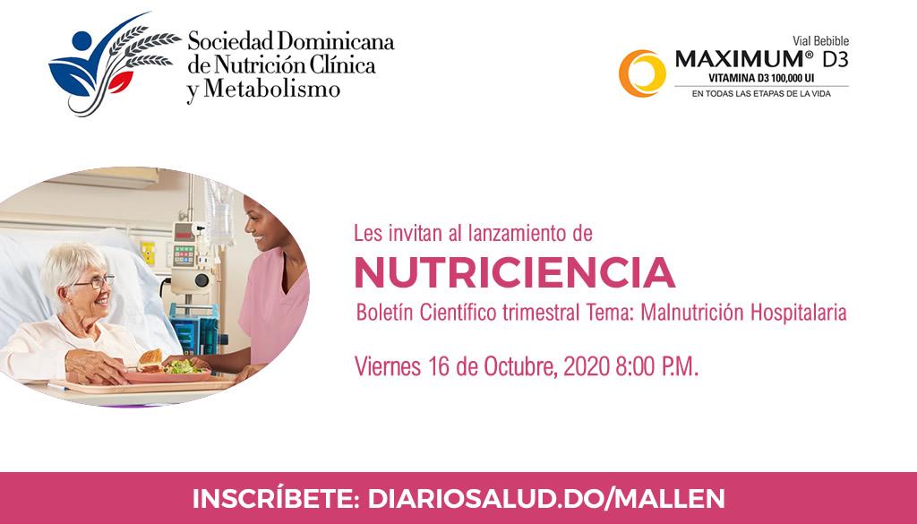 """Lanzamiento boletín científico trimestral """"Nutriciencia"""""""