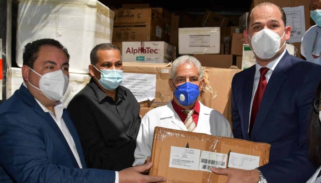 Hospital Vinicio Calventi recibe partida adicional de medicamentos